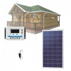 Solární systém 90Wp/12V (bez baterie)