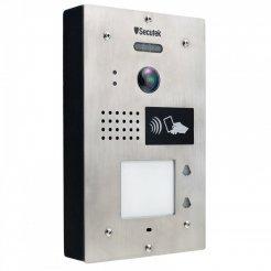 Kovový videozvonček Secutek SPL-111K-2 s RFID čítačkou