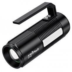 Supfire GF03 LED фенер за риболов JIGNRUI XK LED 300lm, USB, Li-ion до 750 минути издръжливост