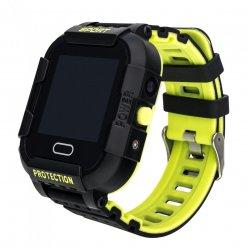 GPS Kinderarmbanduhr mit Audioüberwachung Secutek SWX-KT03-SG