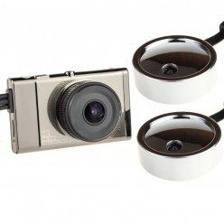 System kamer 3CH z 3-calowym wyświetlaczem LCD i GPS do ciężarówek X1S