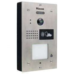 Kovový videozvonček Secutek SPL111K-1 s RFID čítačkou