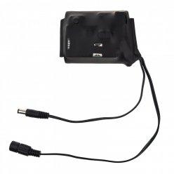Diaľkovo spínaná batéria so 4G modemom - 12V / 5V - 3 000mAh
