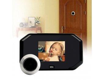 Jak vybrat digitální dveřní kukátko s kamerou