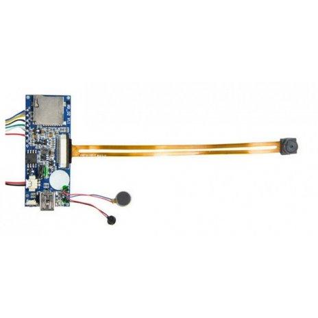 Mini HD kamerás modul manuális vezérléssel
