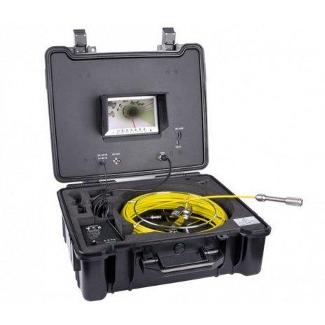 Professionelle Inspektionskamera + Koffer mit Monitor