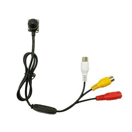 CCTV minikamera - 600TVL; 0,5 LUX; 65°; pinhole