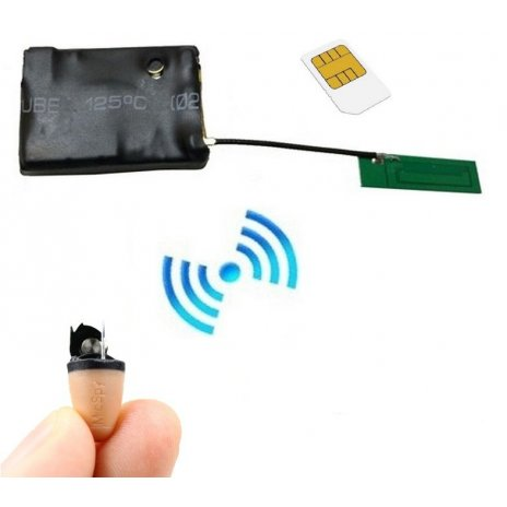Secutek mikrosluchátko + GSM box