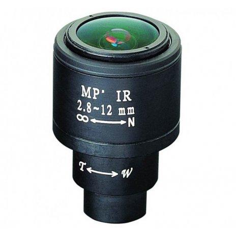2.8 - 12mm varifokális lencse M12x0.5