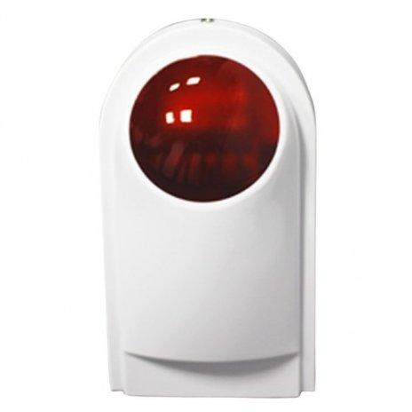 Bezprzewodowa wewnętrzna syrena - dźwięk i światło alarmowe