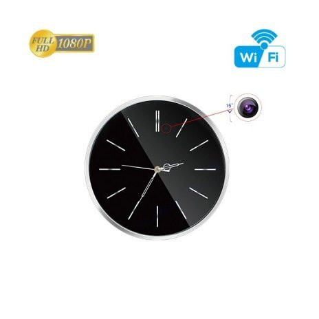 Wanduhr mit Full HD Kamera Secutek SAH-IP100