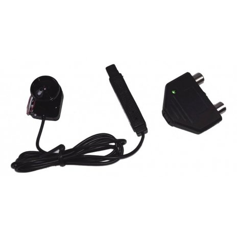 Kamera v knoflíku s IR přisvícením
