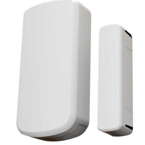 Bezdrátový magnetický senzor na dveře / okna s upozorněním na nízký stav baterie