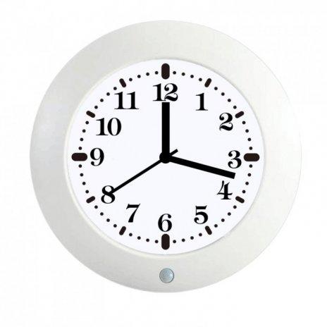 Nástenné hodiny so skrytou kamerou a PIR čidlom