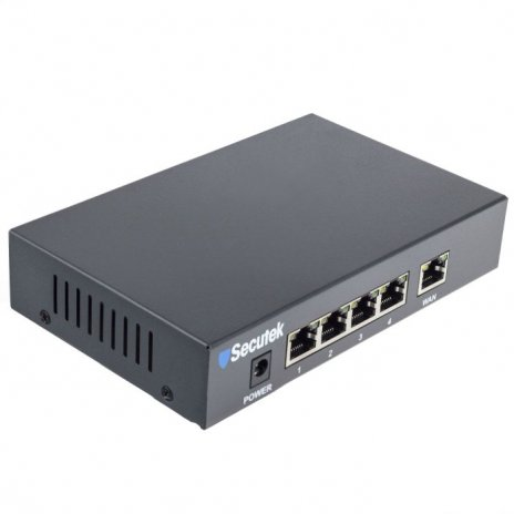 PoE switch Secutek LS-RT411 - 5 port