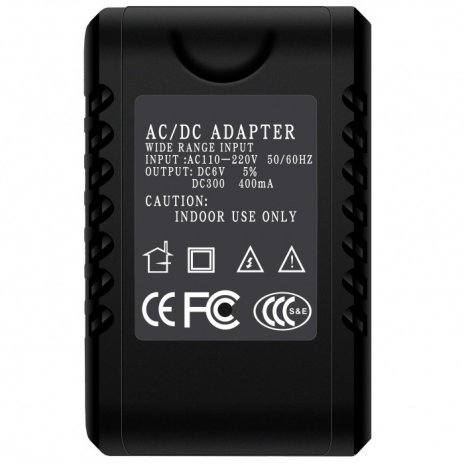 Skrytá kamera v síťovém adaptéru HD 1080P Pro AC