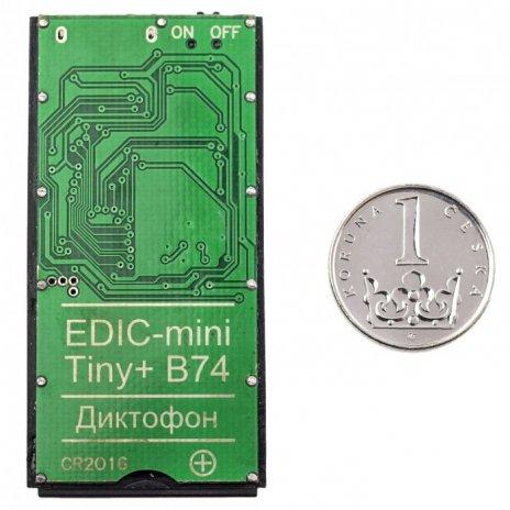Mini diktafón EDIC-mini Tiny+ B74
