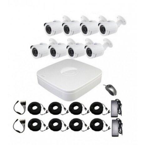 8-kamerový set + AHD DVR