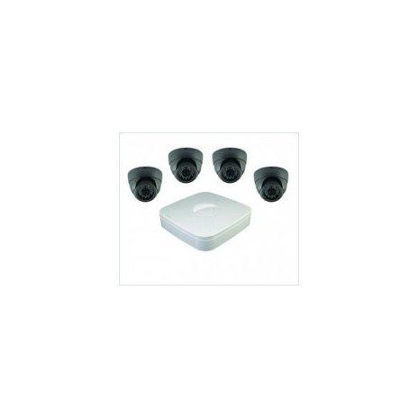 4-kamerový set (dome kamery) + AHD DVR - Full HD, Zoom