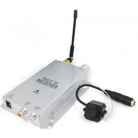Bezdrátová minikamera s přijímačem, 2,4 GHz
