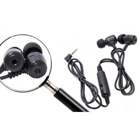 Mikrokamera ve sluchátkách