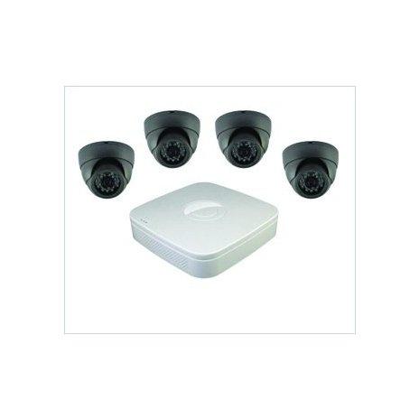 4-kamerový set (dome kamery) + DVR