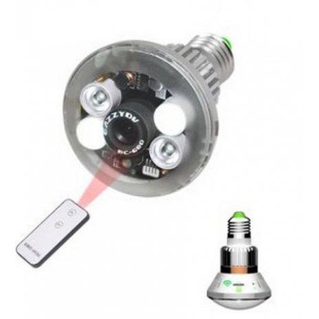WiFi IP kamera v žárovce - P2P, HD