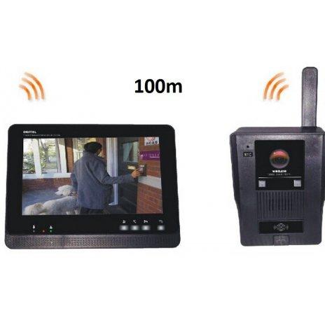 """Bezdrátový videotelefon - 2,4GHz, 7"""""""