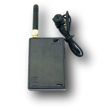 Bezdrátová 2,4GHz minikamera v knoflíku