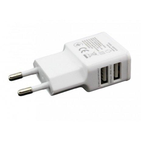 Rychlonabíjecí, duální 5V / 2000mA USB adaptér