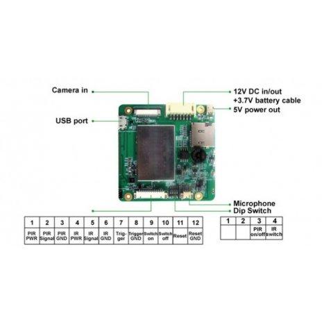Profesionální HD kamerový modul s PIR čidlem