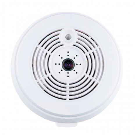 Panoramatická WiFi IP kamera v detektore dymu
