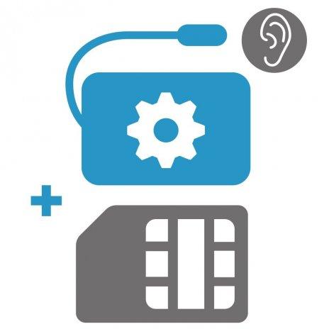 Einstellen der GSM Überwachung + SIM Karte