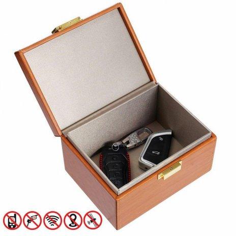 Faraday Box für die Fernbedienung von Auto Secutek SAI-OT76