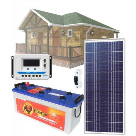 Solárny systém 175Wp/12V