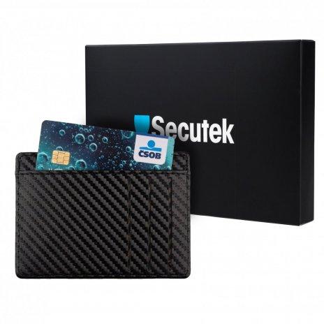 Sicherheitshülle für Zahlungskarten Secutek OT69