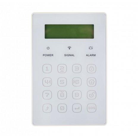 Bezdrôtová klávesnica JP-08 k alarmom Secutek SWD