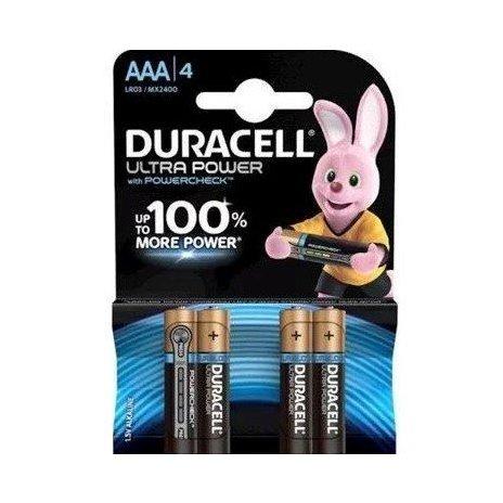 Mikrotužkové AAA baterie (4ks)