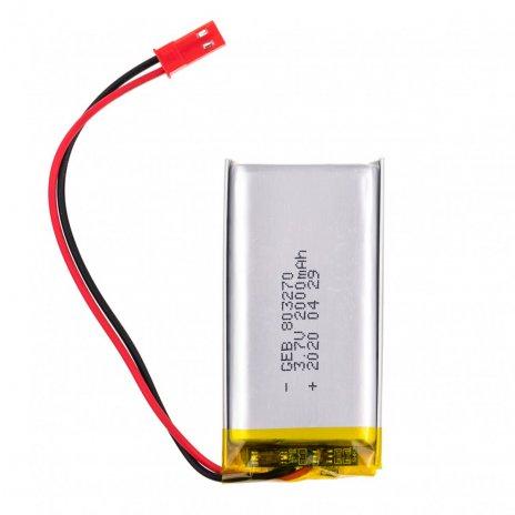 3.7V 2000mAh dobíjecí lithiová baterie