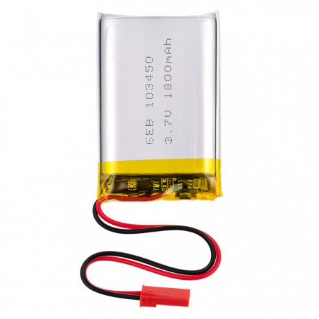 3.7V 1800mAh wiederaufladbarer Lithium-Akku