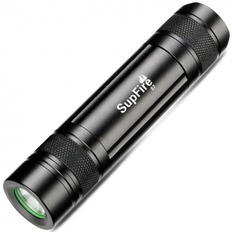 Supfire S7 LED акумулаторно фенерче CREE XPE LED 300lm, USB, Li-ion
