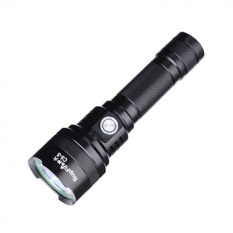 Supfire C8-S LED акумулаторно фенерче Luminus SST-40 -W 1100lm, USB, Li-ion
