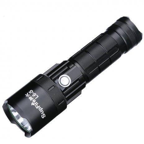 Supfire L6-S LED акумулаторно фенерче Cree LED 2500lm, USB, Li-ion