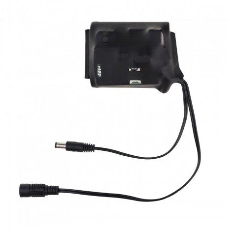 Батерия с дистанционно превключване през GSM мрежата (SMS) 12V / 5V - 3 000 mAh