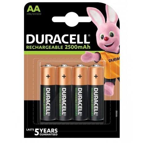 Újratölthető AA ceruzaelemek (4db)