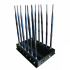 Širokopásmová 30W rušička signálu (GSM, GPS, 3G, WiFi, 4G, LTE, VHF, UHF, GPS, LOJACK)
