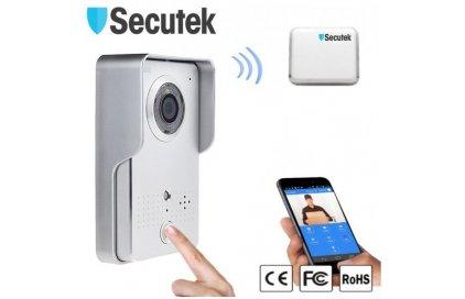 Videozvonček Secutek HD WIFI602