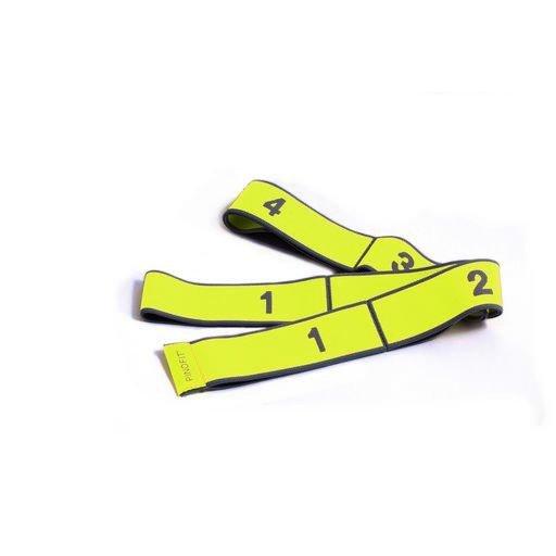PINOFIT® Stretch Band, žltá, ľahké zaťaženie, 1 m