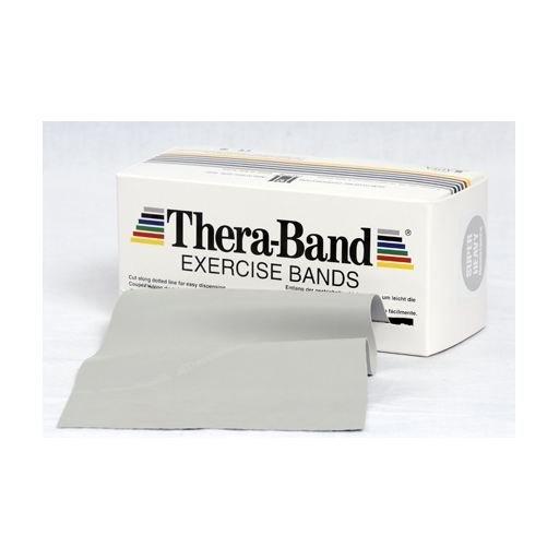 Thera-Band, stříbrná, super silná zátěž, 5,5 m