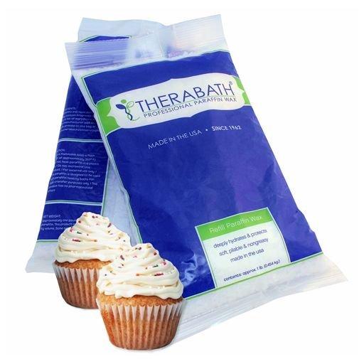 THERABATH® Parafín vanilkový dortík, 2,7 kg, perličky